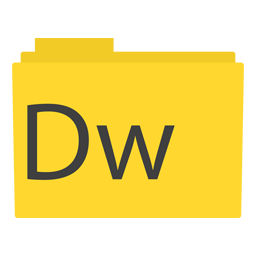 Preview of Adobe DreamWeaver Folder icon