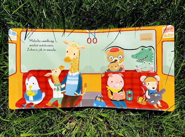 Foksal - Wilga - Baw się z nami - książeczki z ruchomymi elementami - Wesoły pajączek - Wesoły autobus - Wycieczka z przyjaciółmi - Wszystkiego najlepszego - książki dla dzieci - książki całokartonowe