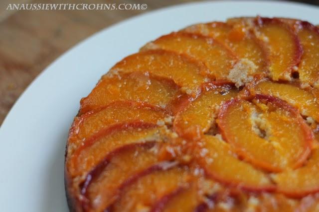 Paleo Peach Upside Down Cake I