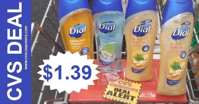 Dial Body Wash Coupon CVS Deal 7-12-7-18
