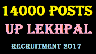 Up 14000 Lekhpal Recruitment 2017 : Exam Date & Latest News