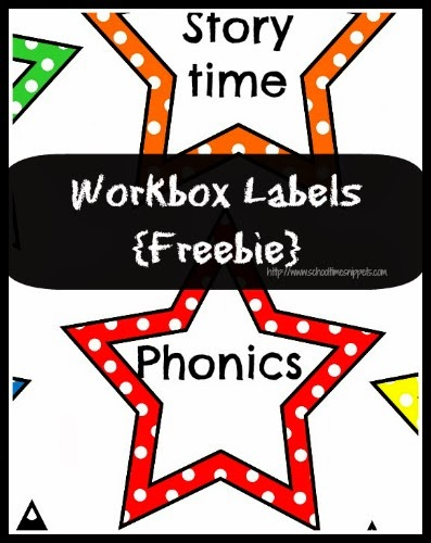 free workbox labels