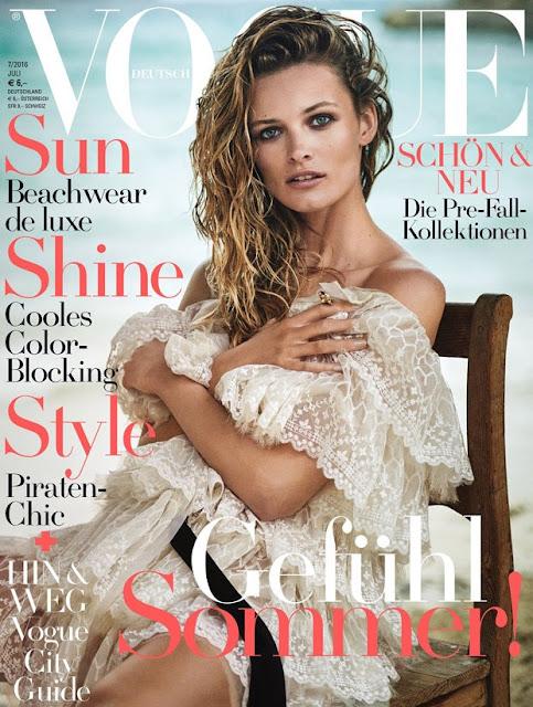 Fashion Model, @ Edita Vilkeviciute - Vogue Germany, July 2016