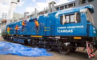 Dos nuevas locomotoras conectarán Cuyo con Rosario