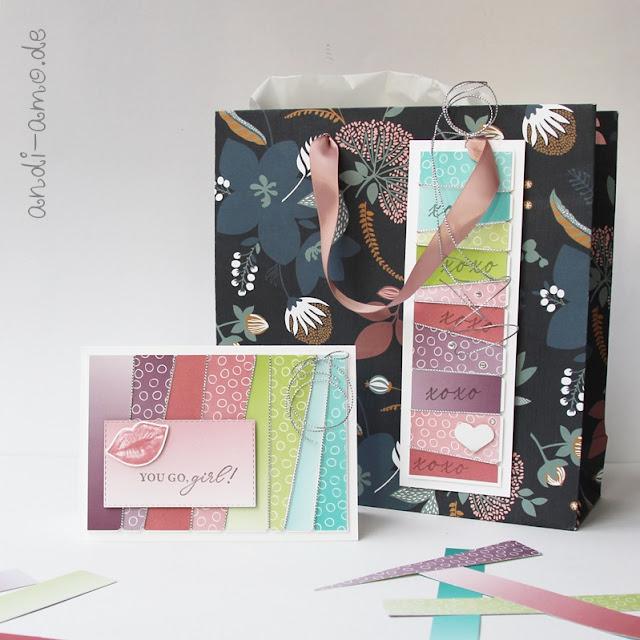 Karte und Geschenk für Team-Mitglied andi-amo