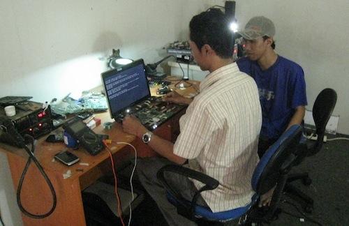 pelatihan teknisi laptop
