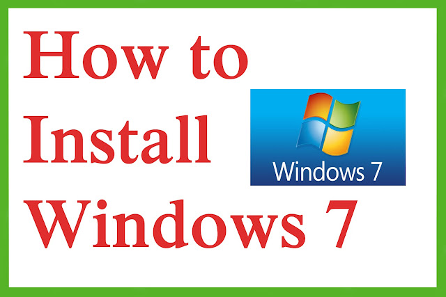 How to install window 7