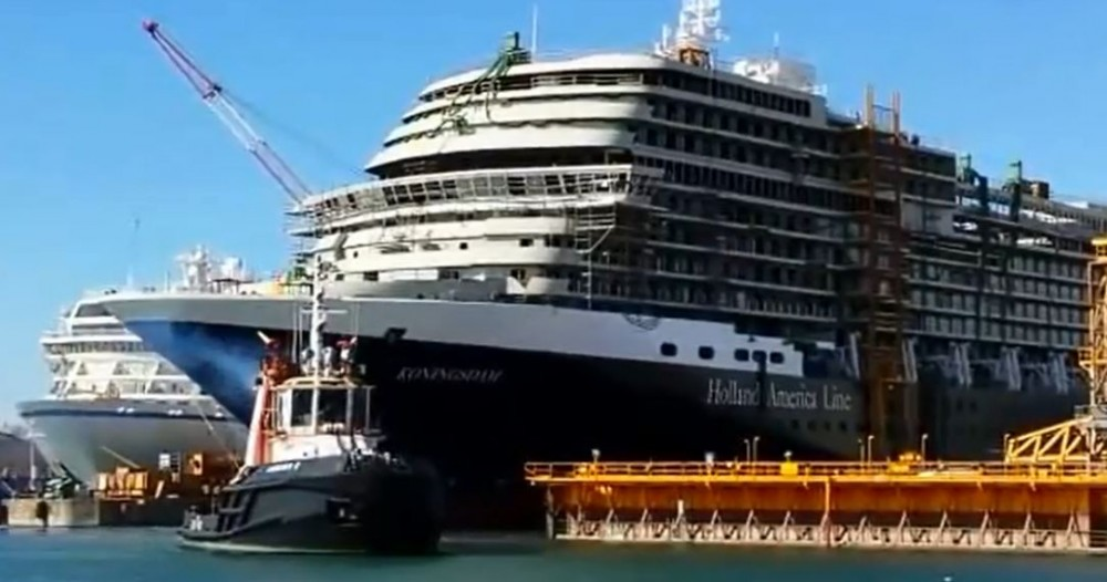 Koningsdam Completes Second Sea Trials