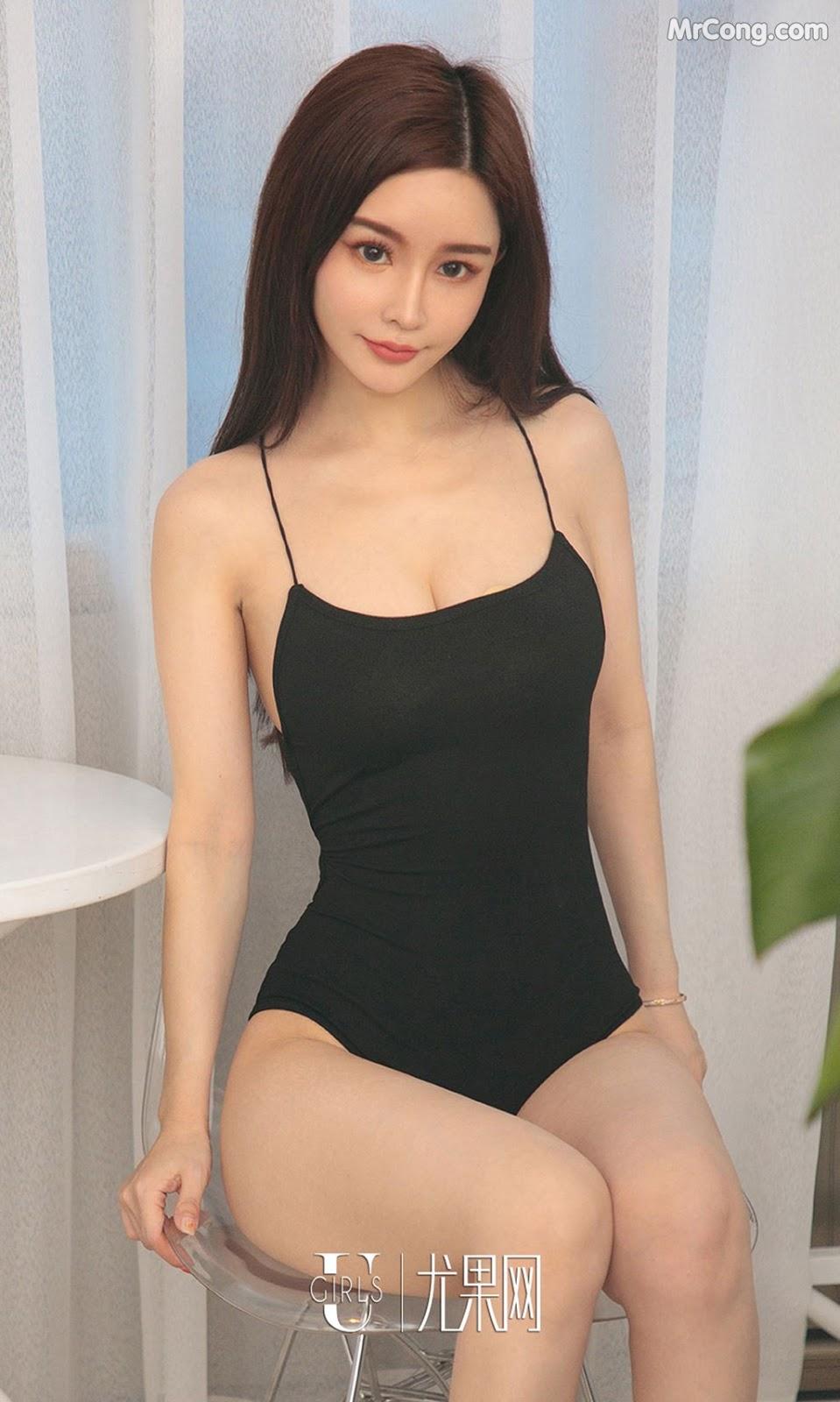 Image UGIRLS-Ai-You-Wu-App-No.1285-Chun-Xiao-Xi-MrCong.com-009 in post UGIRLS – Ai You Wu App No.1285: Người mẫu Chun Xiao Xi (纯小希) (35 ảnh)