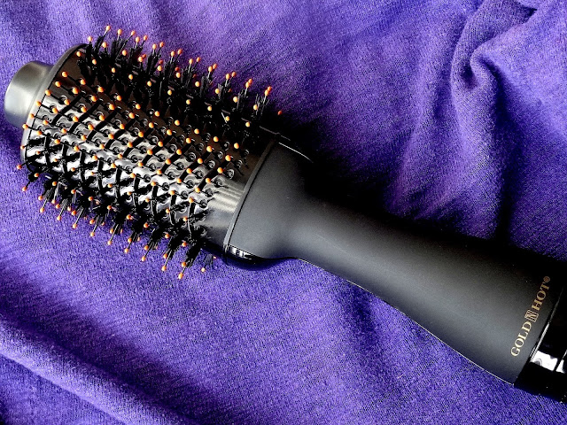 Gold n Hot Professional Ionic Volumizer Dryer and Styler For Textured Hair