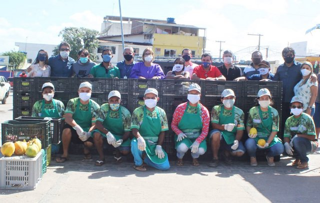 Feira Agroecológica de Surubim recebe apoio da Secretaria de Desenvolvimento Agrário