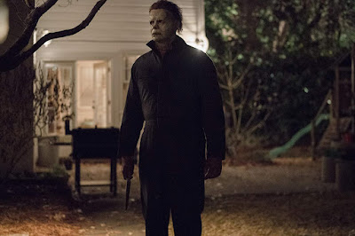 Halloween 2018 movie still Michael Myers