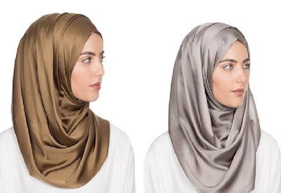 Bergaya Elegan dengan Tutorial Hijab Satin Bermotif Mudah dan Praktis