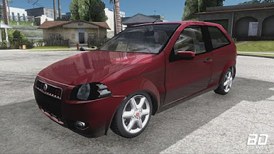 Download , Mod , Carro, Fiat palio 3p 1.4 para GTA San Andreas, GTA SA , Jogo PC