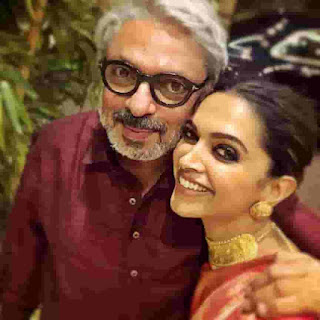 Deepika Padukone With Sanjay Leela Bhansali
