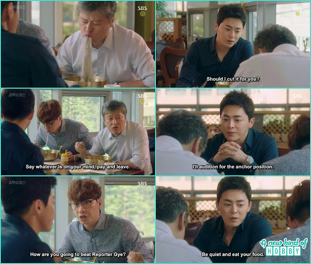 hwa shin wante dto do the audition for 9pm news anchor but it reveal every one has to submit their medical reports  - Jealousy Incarnate - Episode 3 Review - Hospital Encounter