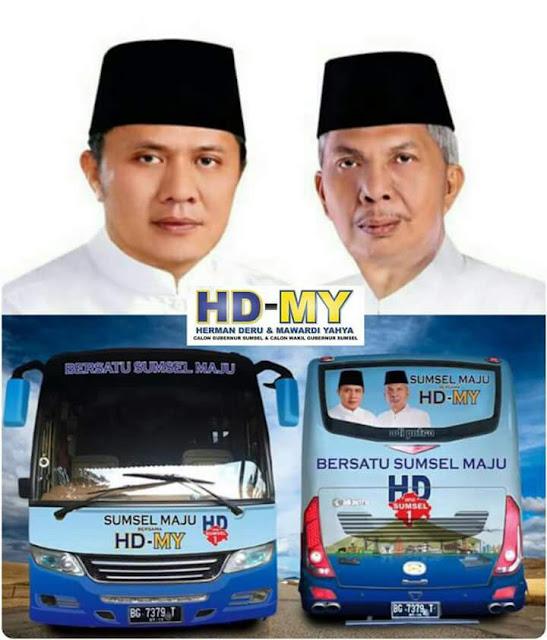 HD-MY Komitmen Membangun Sumsel