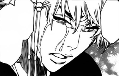อิซาเนะหลั่งน้ำตาออกมาด้วยความเสียใจ