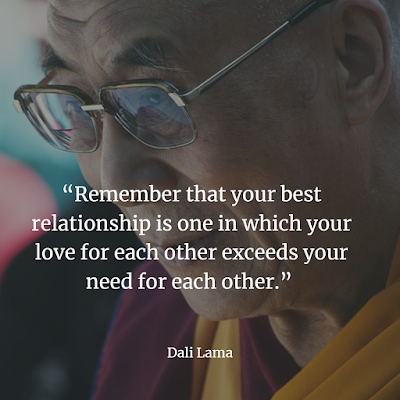 Dali Lama quote about love