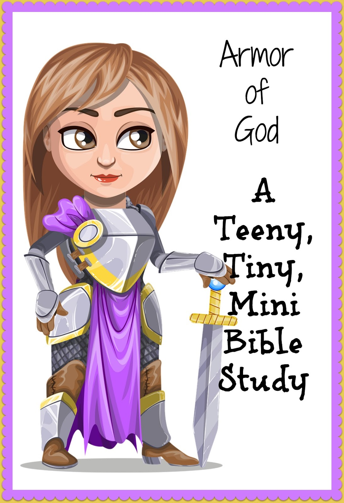simple bible study outlines armor of god a teeny tiny mini
