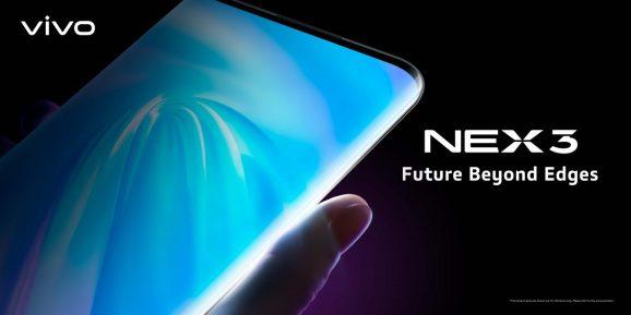 VIVO NEX 3, un écran de 7 pouces borderless à 99,8% !