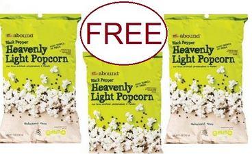 FREE GE Popcorn