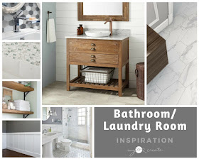 Bathroom/Laundry Room Makeover design inspiration