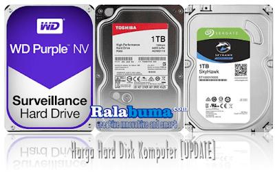 Harga Hard Disk Komputer Terbaru [UPDATE]