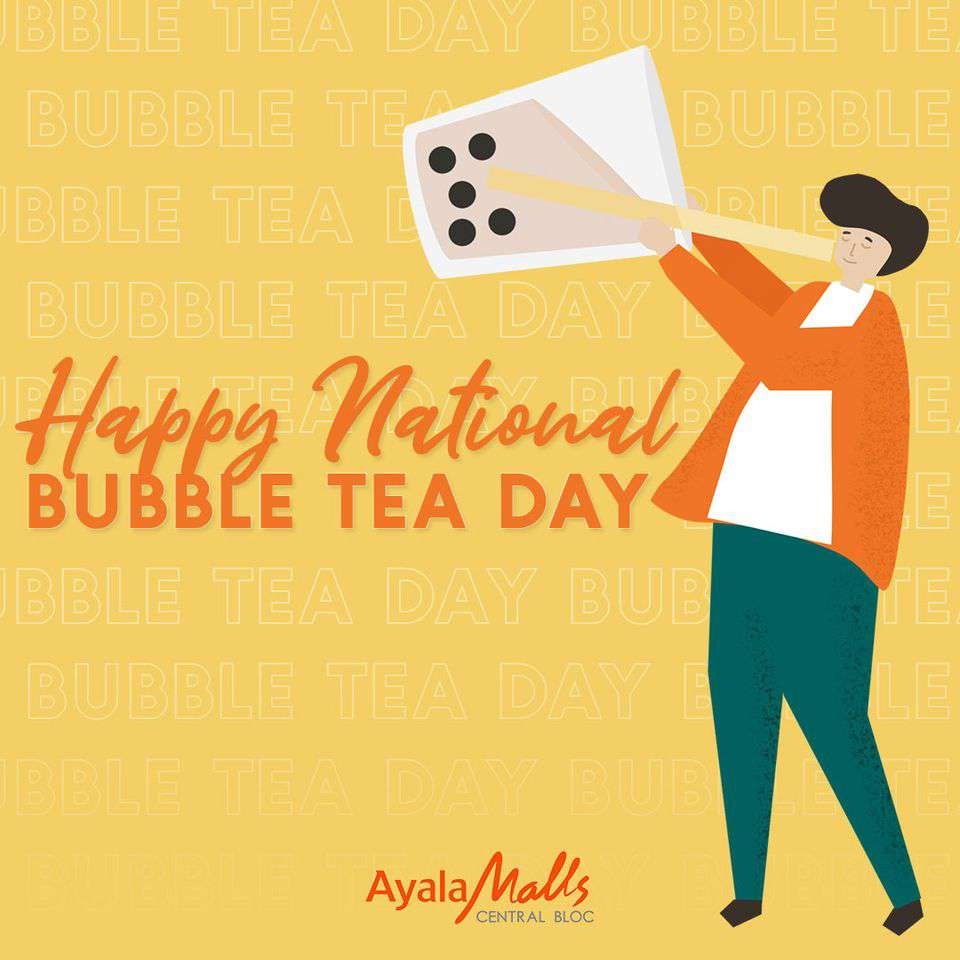 National Bubble Tea Day Wishes Sweet Images