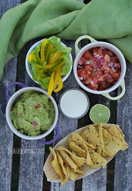 3 salsas para tacos - Tacos de pescado con 3 salsas 3