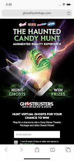 Ferrara Ghostbusters AR Haunted Candy Hunt Game 01