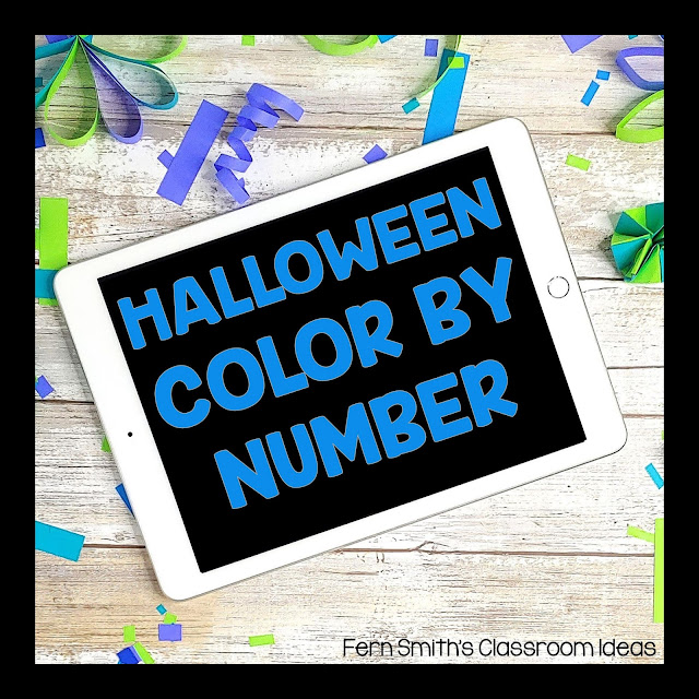 Fern Smith's Classroom Ideas Halloween Color By Number Pinterest Board!