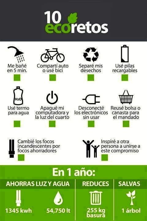 consejos ecologicos