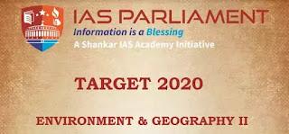 IAS Parliament Environment & Geography II PDF