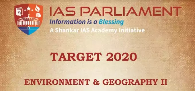 IAS Parliament Environment & Geography II PDF