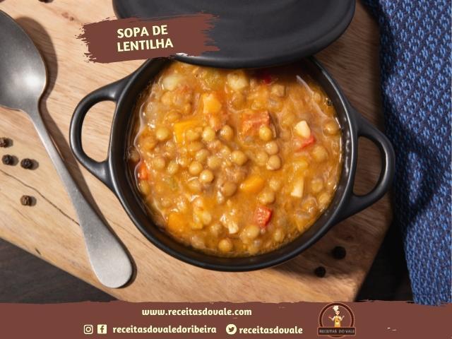 Receita de Sopa de Lentilha