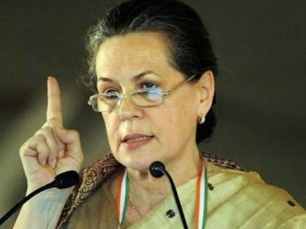 sonia gandhi, Narendra Modi, AICC, All India Congress Committee, congress president, Andhra Pradesh