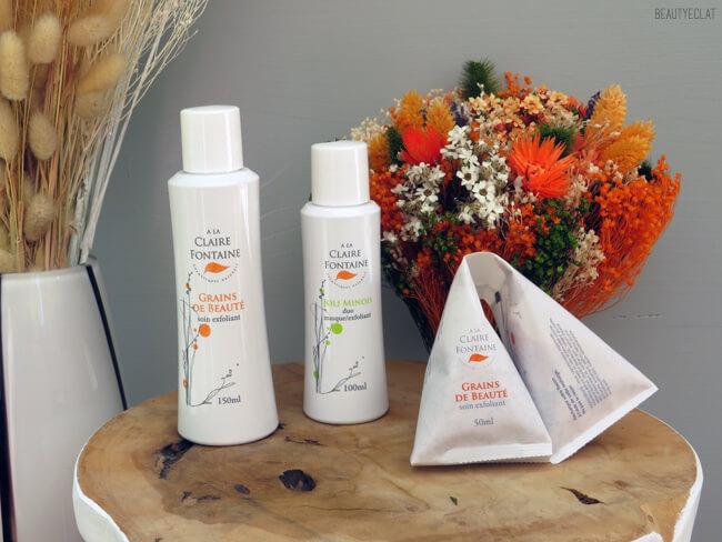 avis a la claire fontaine cosmetiques naturels