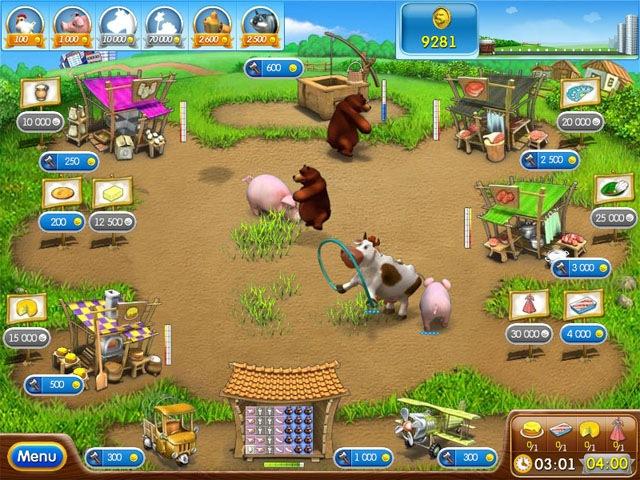 Download Game Perternakan Farm Frenzy 2 and Farm Frenzy 3