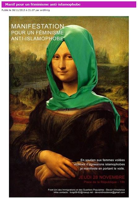 """Une des actions de """"l'association Pour la reconnaissance des droits et des libertés à la femme musulmane"""" dont Zakia Meziani est la présidente."""