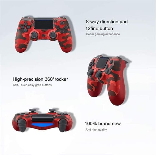 Review Oriflame Wireless Bluetooth Controller for PS4