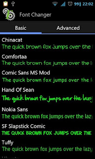 Mengubah Font Android dengan Font Changer (Root Only)