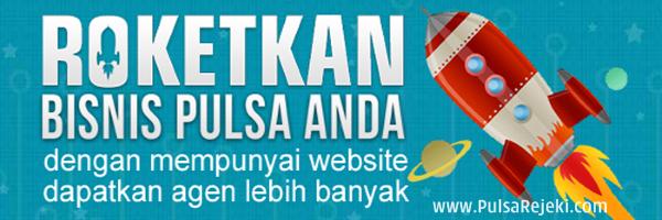 PulsaRejeki.Com Cara Mudah Membuat Web Promosi Pulsa Termurah