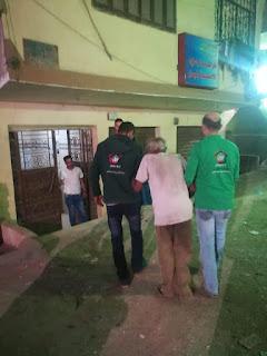 فريق اطفال بلامأوي ينقذ مسن ويعيده لاسرته
