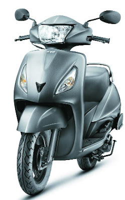 TVS Jupiter scooter 110cc front angle image