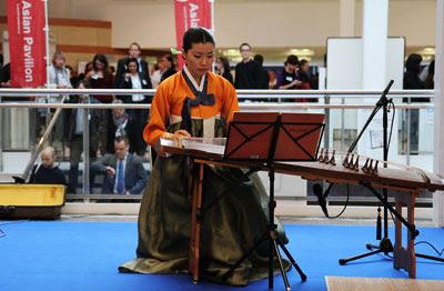 Alat Musik Petik Tradisional Korea Gayageum