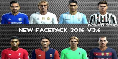 Facepack V3 2016 Pes 2013 By Facemaker Cesareo