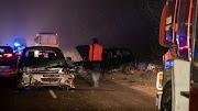 Ittas sofőr miatt hatan sérültek meg a hármas karambolban