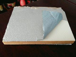 Panel aislante aluminio