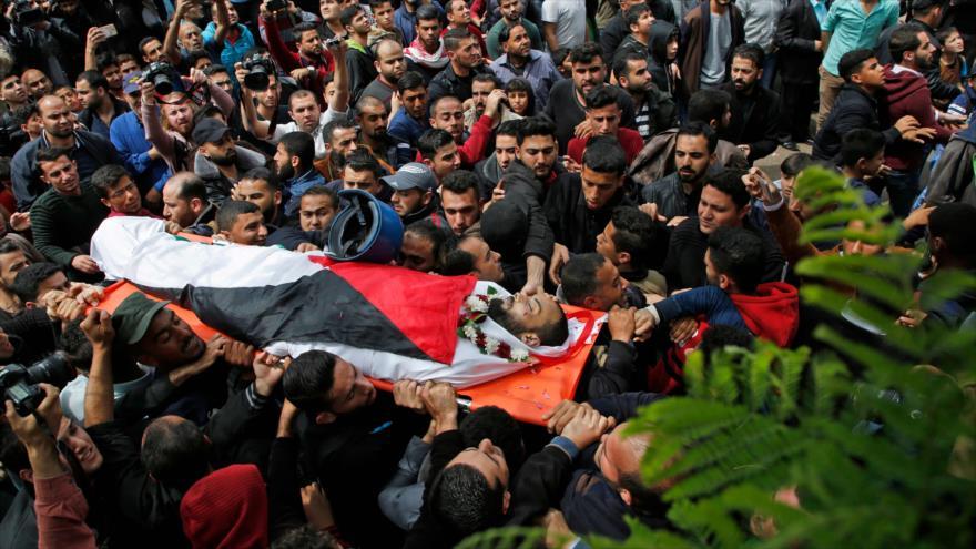 Tres palestinos muertos por fuego israelí